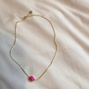 Hot Pink Kendra Scott Necklace